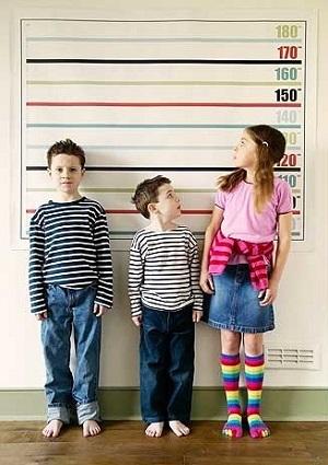 Как увеличить рост ребенка в 9 лет?