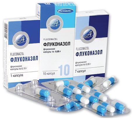 Чем заменить флуконазол при лечении грибка лазером?