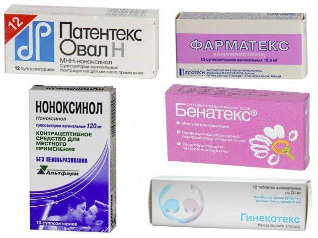 Негормональные противозачаточные средства: спермициды, таблетки, свечи